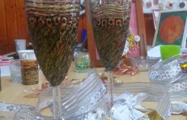 Obiecte decorative 7- pictură pe sticlă