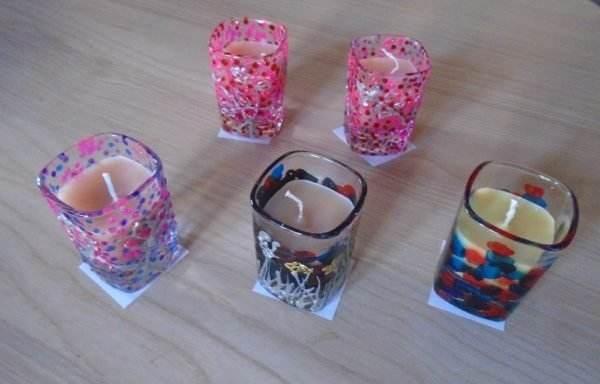 Obiecte decorative 5- pictură pe sticlă