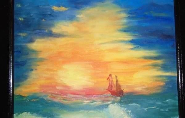 Apus pe mare